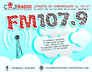 Afiche radio - facebook